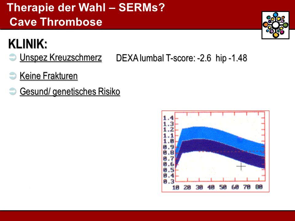 Therapie der Wahl – SERMs.
