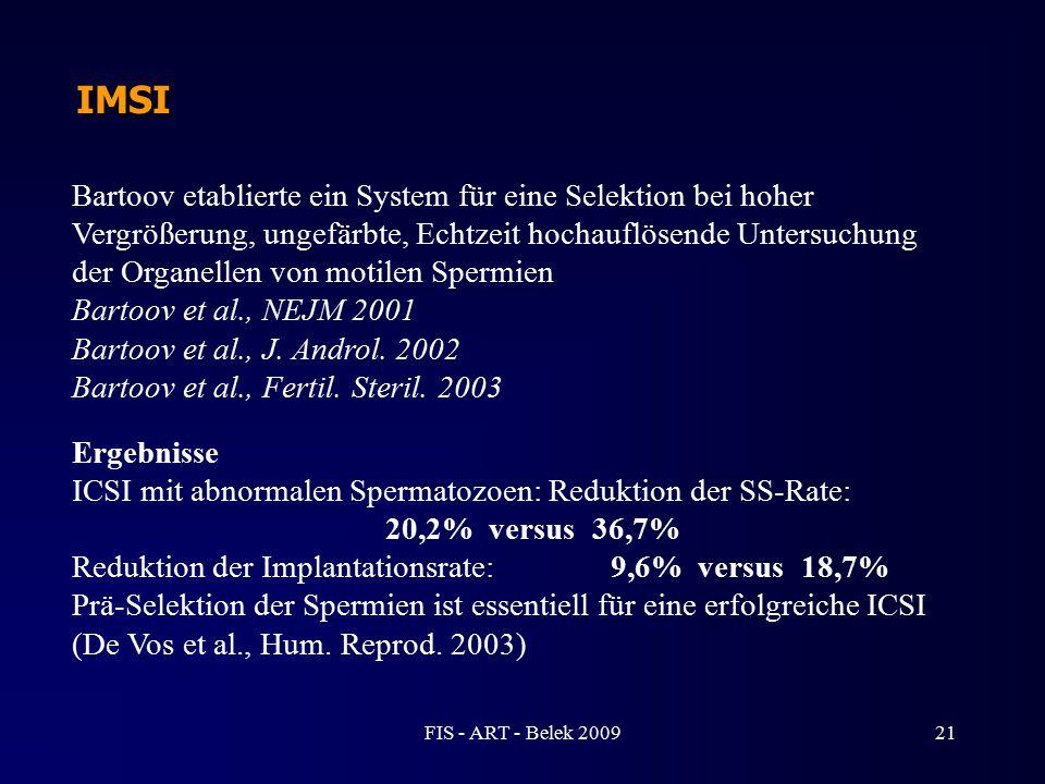 Bartoov etablierte ein System für eine Selektion bei hoher Vergrößerung, ungefärbte, Echtzeit hochauflösende Untersuchung der Organellen von motilen S