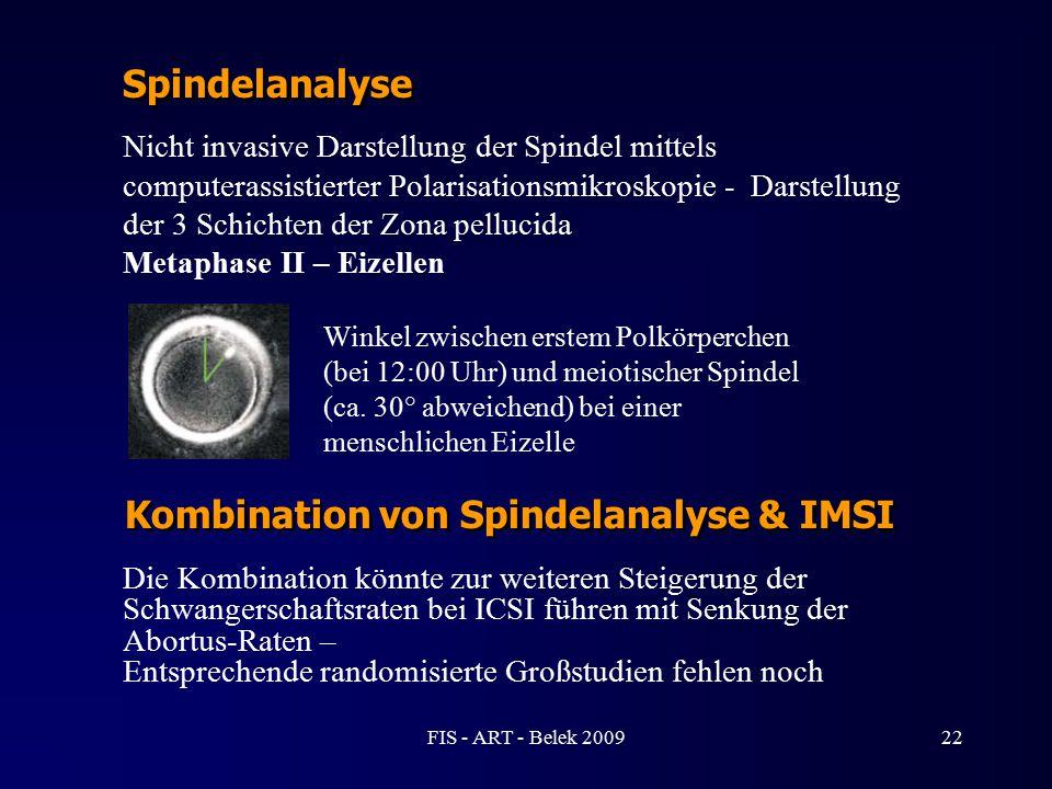 Nicht invasive Darstellung der Spindel mittels computerassistierter Polarisationsmikroskopie - Darstellung der 3 Schichten der Zona pellucida Metaphas