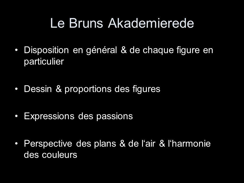 """Poussin im Brief an Chantelou, 1639: """"Lisés l'istoire et le tableau, afin de cognoistre si chasque chose est apropriée au subiect."""