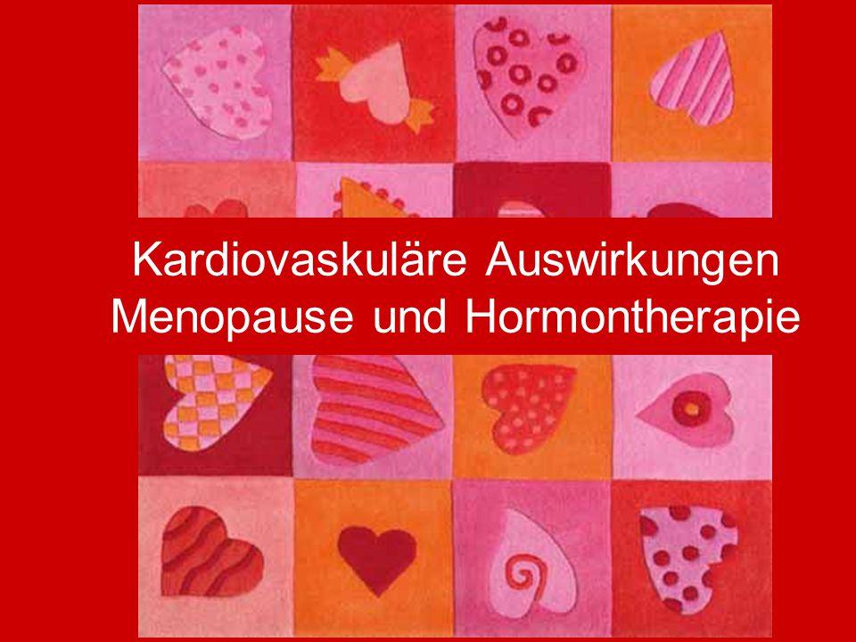 Kardiovaskuläre Auswirkungen Menopause und Hormontherapie