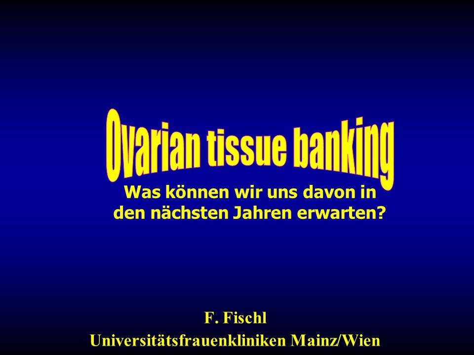 Was können wir uns davon in den nächsten Jahren erwarten? F. Fischl Universitätsfrauenkliniken Mainz/Wien