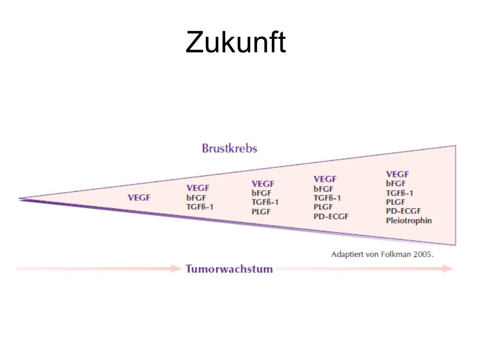 Miller KD, et al. Breast Cancer Res Treat 2005;94:S6(Abstract 3) Zukunft