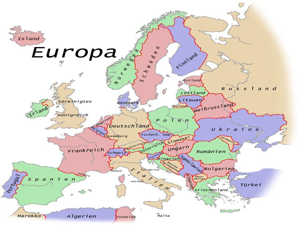 der Norden Schweden ist im Norden von Europa.
