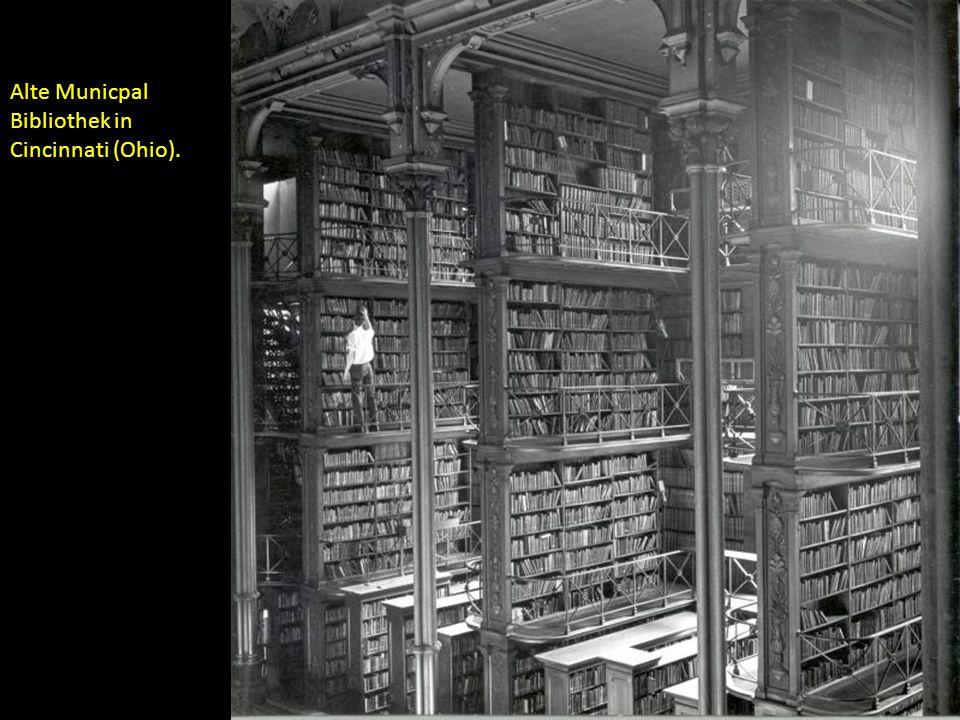 Alte Municpal Bibliothek in Cincinnati (Ohio).