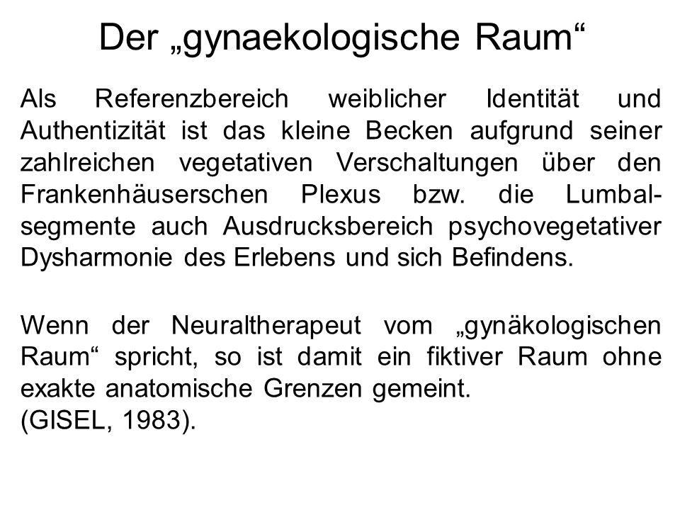 """Der """"gynaekologische Raum"""" Als Referenzbereich weiblicher Identität und Authentizität ist das kleine Becken aufgrund seiner zahlreichen vegetativen Ve"""