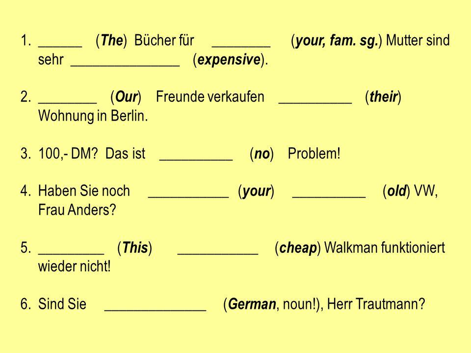 1.A: Wo ist Richard.B: ______________ ist schon in Deutschland.