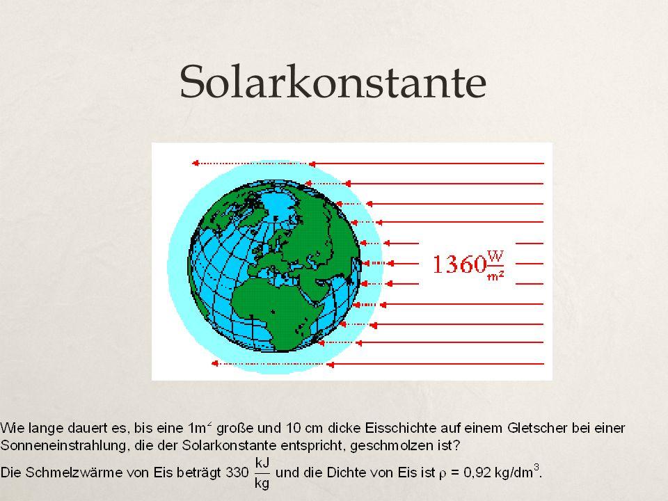 Solarkonstante