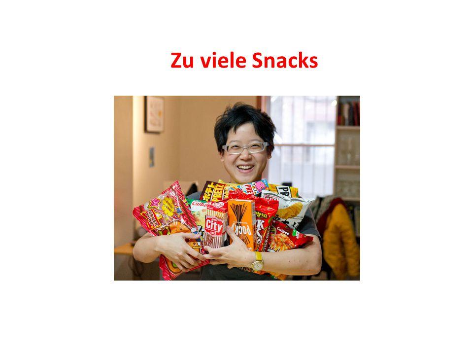 Zu viele Snacks