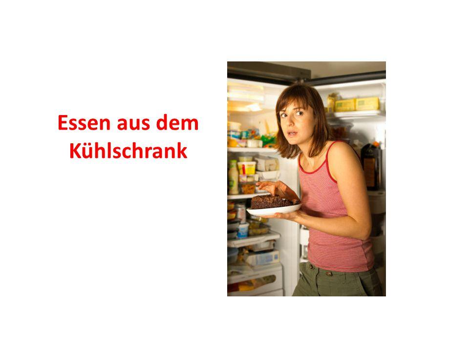 Essen aus dem Kühlschrank
