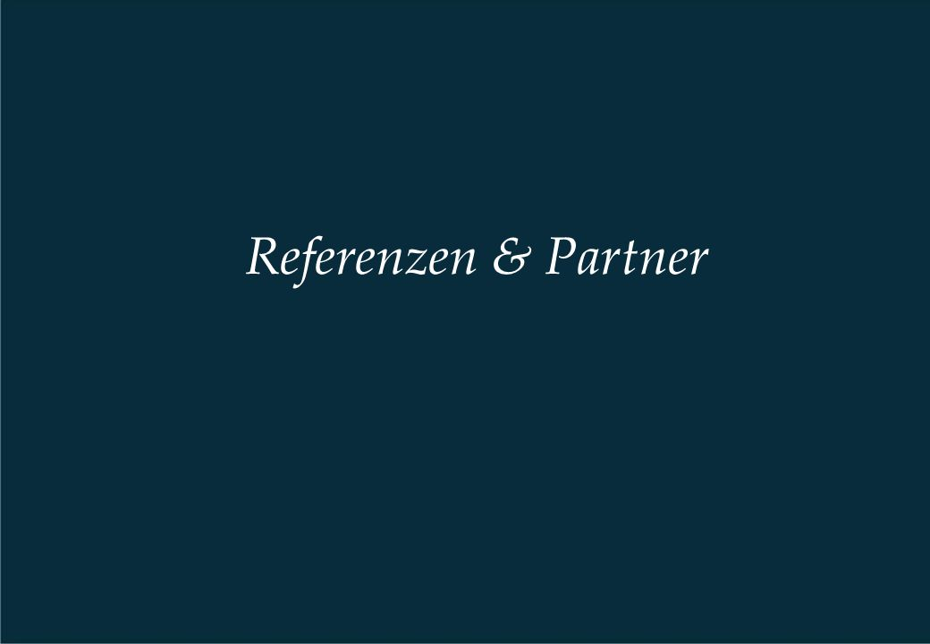 Referenzen & Partner