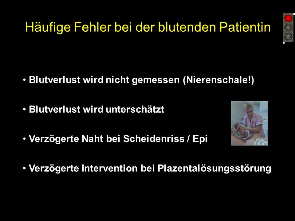 Häufige Fehler bei der Behandlung der Hypertonie / Präeklampsie Blutdrucksenkung zu früh (< diast. 110 mmHg) Blutdrucksenkung zu stark Übersehene Prod