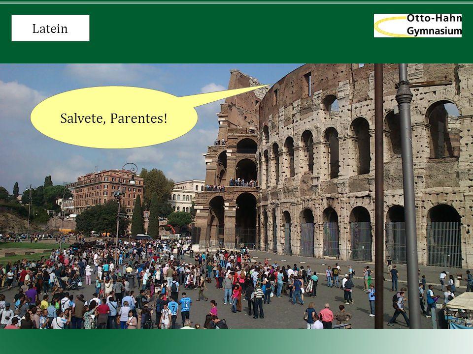 Latein Warum Latein? Denn es weiß doch jeder... * Die spinnen, die Römer!