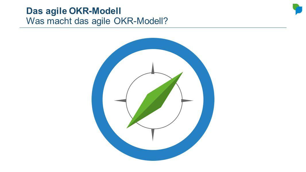 Das agile OKR-Modell Was macht das agile OKR-Modell?