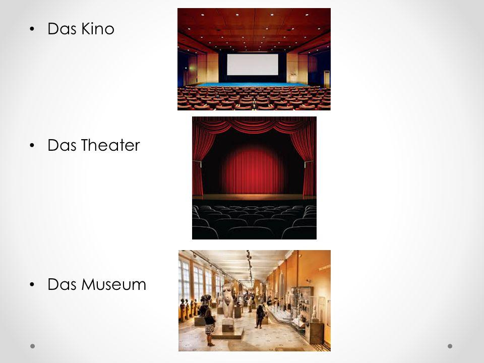 Das Kino Das Theater Das Museum