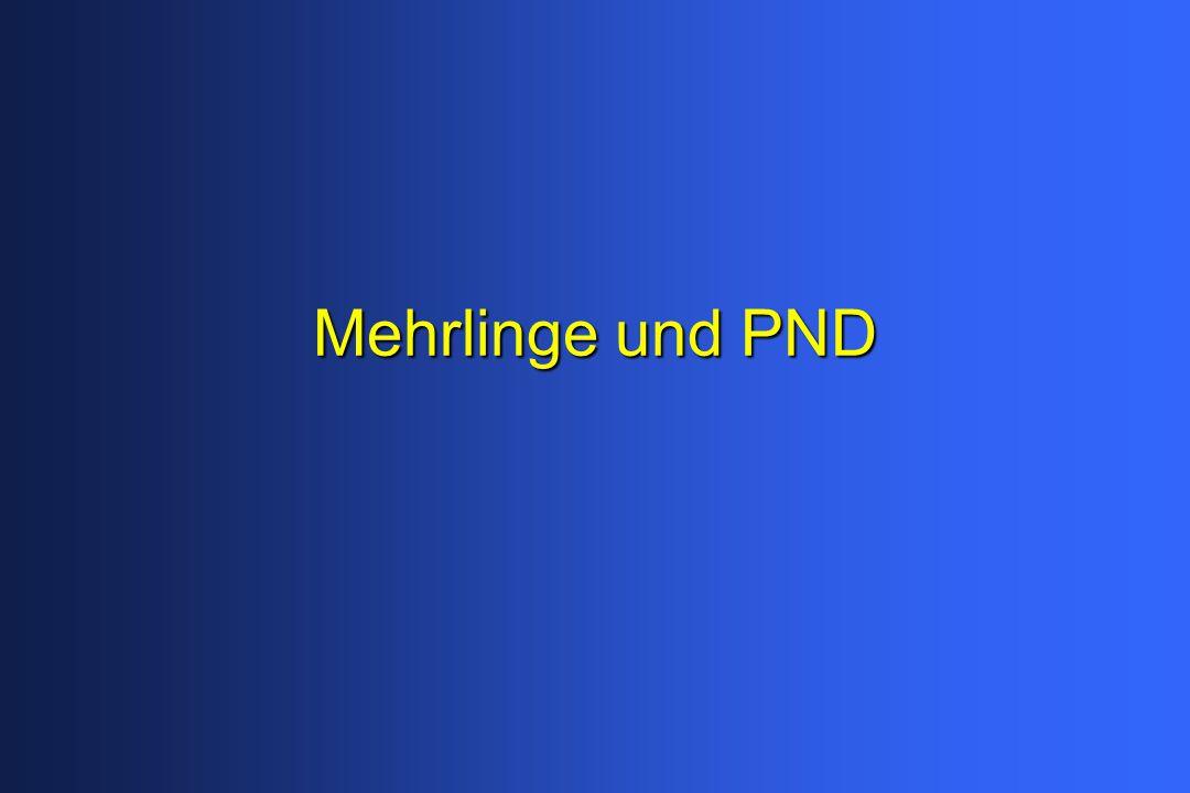 Mehrlinge und PND