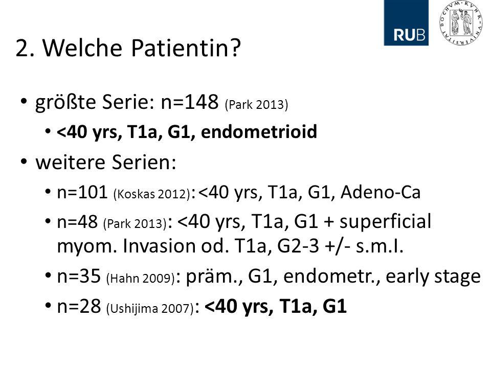 2.Welche Patientin.