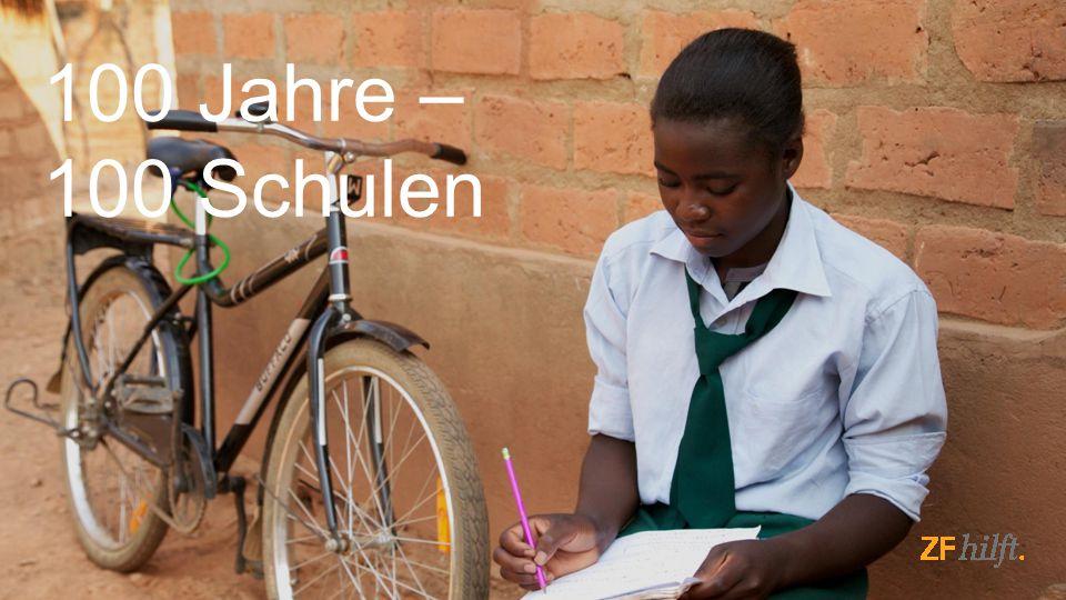 © ZF Friedrichshafen AG, 201517ZF hilft, Öffentlich 100 Jahre – 100 Schulen