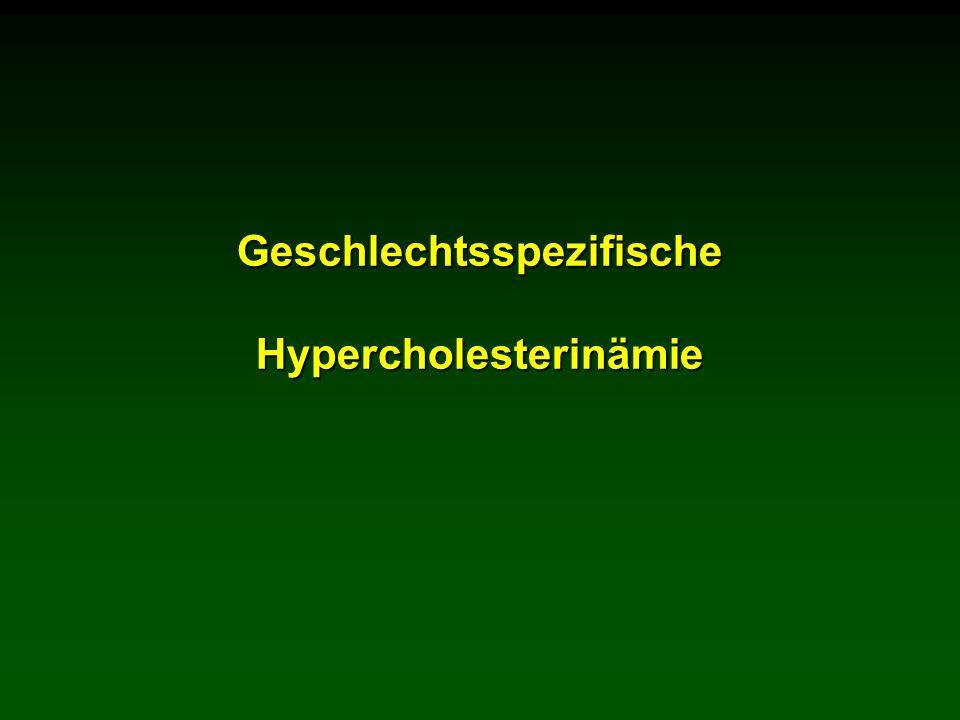 Geschlechtsspezifische Hypercholesterinämie