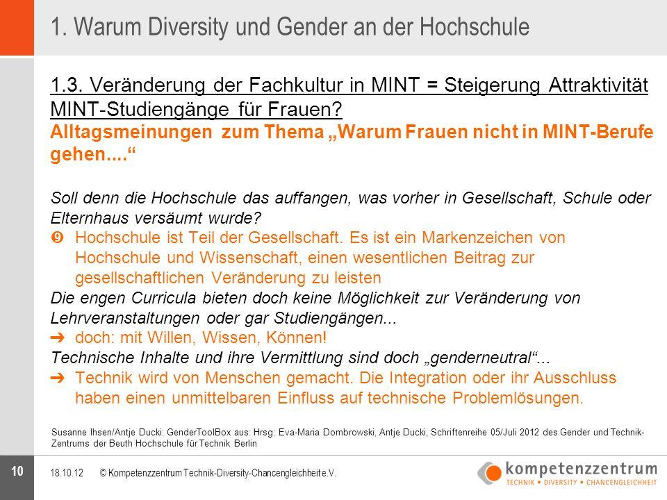 10 Susanne Ihsen/Antje Ducki: GenderToolBox aus: Hrsg: Eva-Maria Dombrowski, Antje Ducki, Schriftenreihe 05/Juli 2012 des Gender und Technik- Zentrums