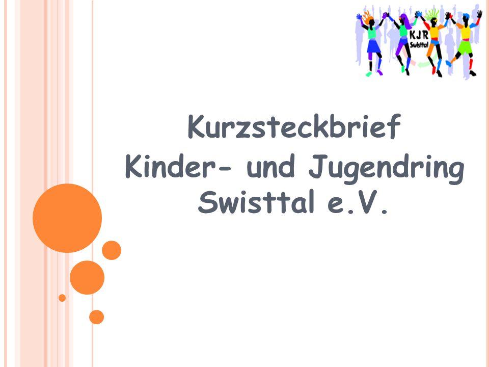 Kurzsteckbrief Kinder- und Jugendring Swisttal e.V.