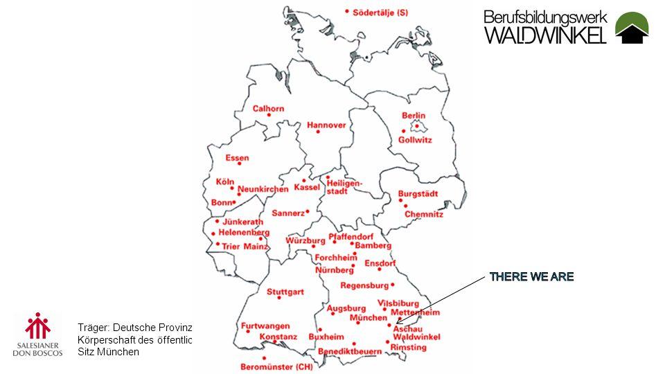 Träger: Deutsche Provinz der Salesianer Don Boscos Körperschaft des öffentlichen Rechts, Sitz München