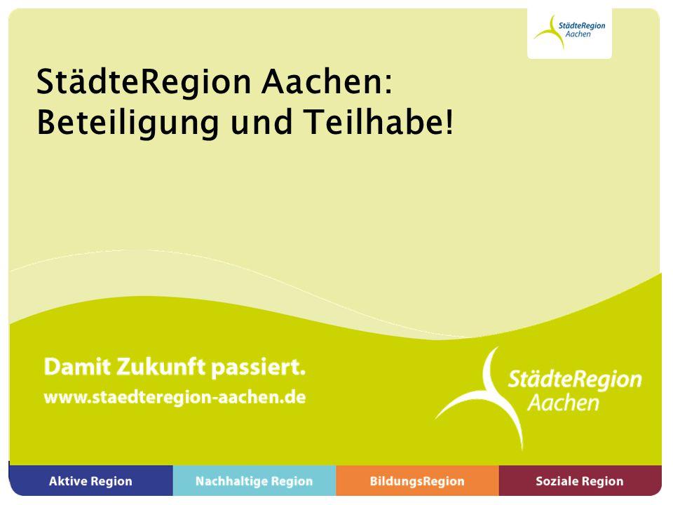 Tag der offenen Tür für die Mitarbeiter www.staedteregion-aachen.de 12