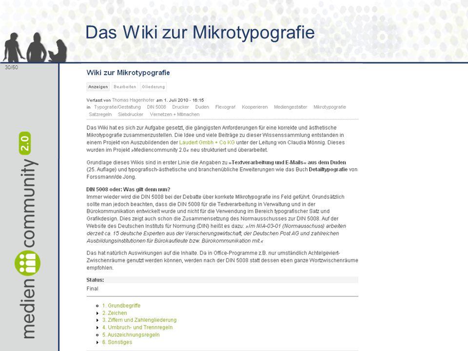 30/50 Das Wiki zur Mikrotypografie