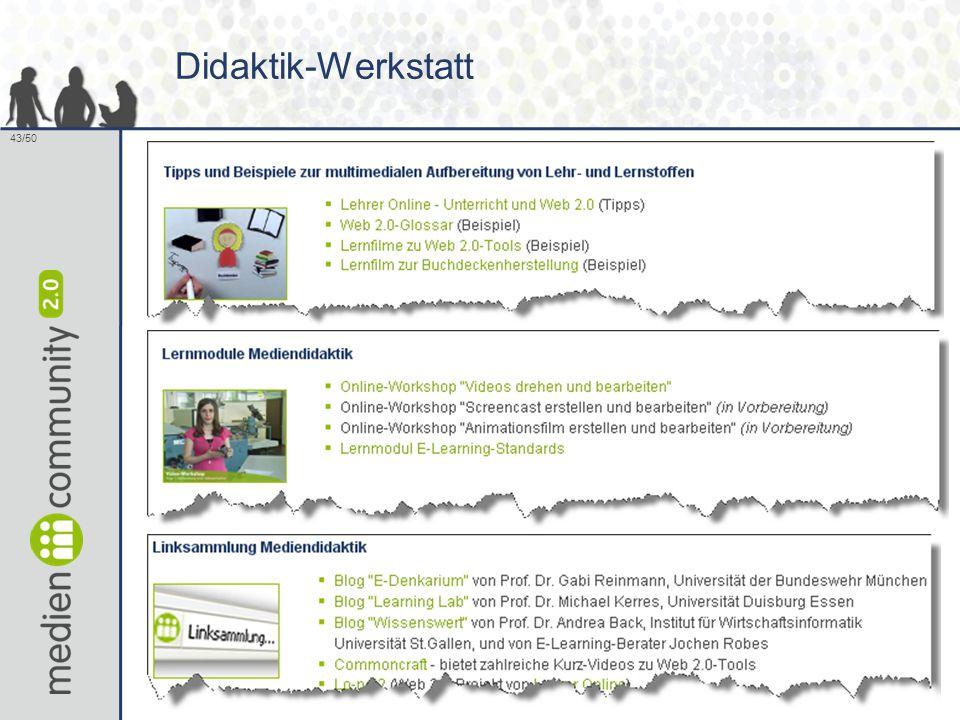 43/50 Didaktik-Werkstatt