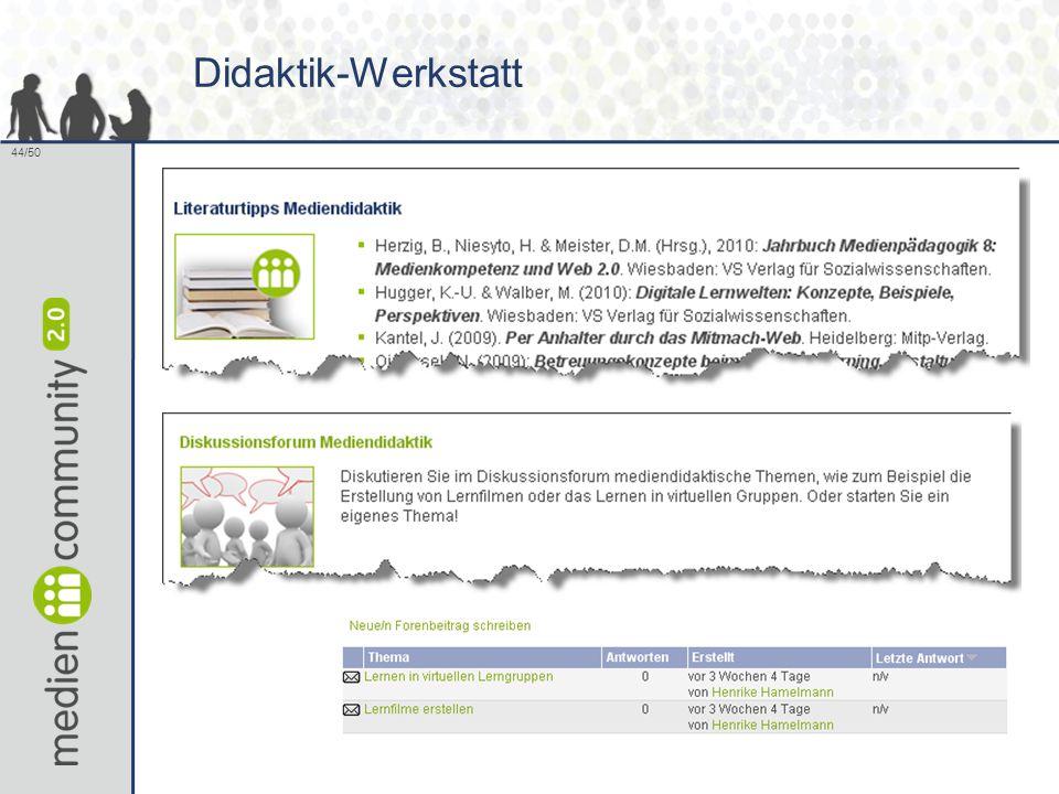 44/50 Didaktik-Werkstatt
