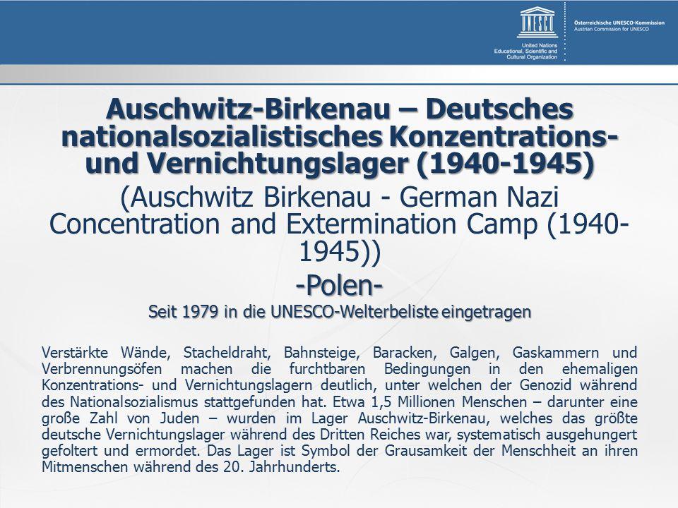Auschwitz-Birkenau – Deutsches nationalsozialistisches Konzentrations- und Vernichtungslager (1940-1945) (Auschwitz Birkenau - German Nazi Concentrati