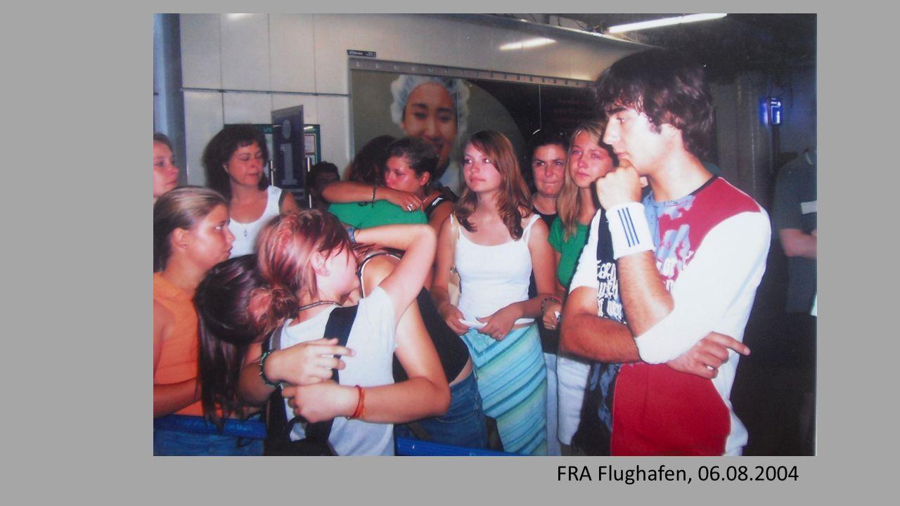 FRA Flughafen, 06.08.2004