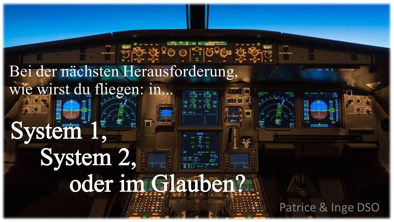Patrice & Inge DSO Bei der nächsten Herausforderung, wie wirst du fliegen: in...