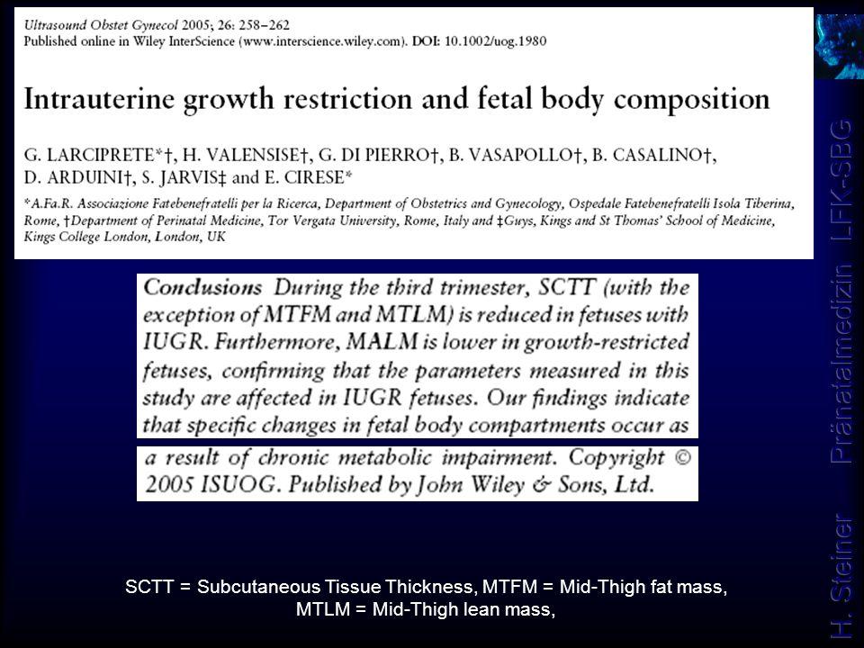 SCTT = Subcutaneous Tissue Thickness, MTFM = Mid-Thigh fat mass, MTLM = Mid-Thigh lean mass,
