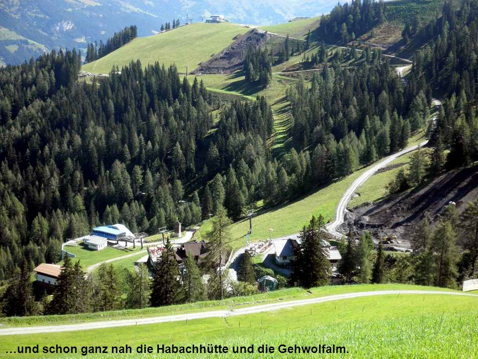 …in der Ferne der Hochkönig und das Tennengebirge…