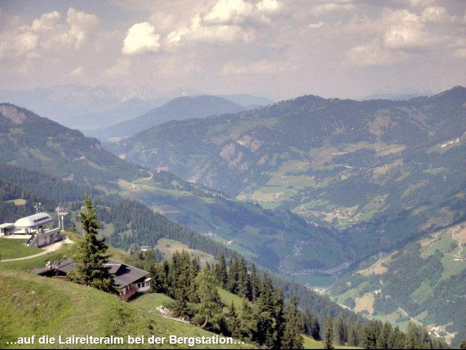…und schon ganz nah die Habachhütte und die Gehwolfalm.