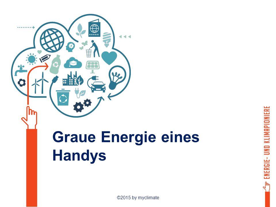 ©2015 by myclimate Graue Energie eines Handys