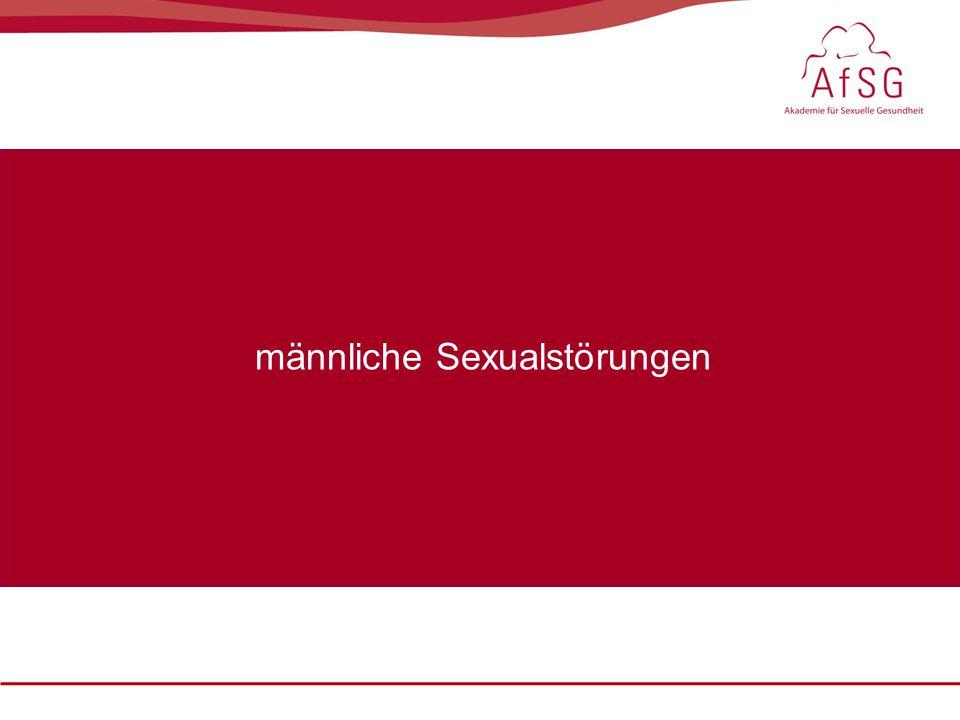 Sexualmedizin: erektile Dysfunktion im Fokus, 22. – 23. Oktober 2010 männliche Sexualstörungen