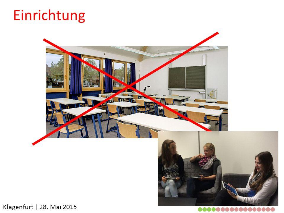 Klagenfurt | 28. Mai 2015 Einrichtung