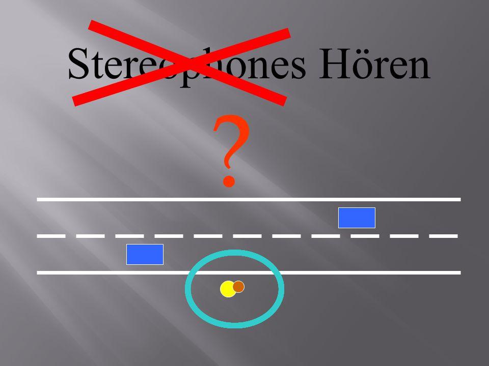 Stereophones Hören