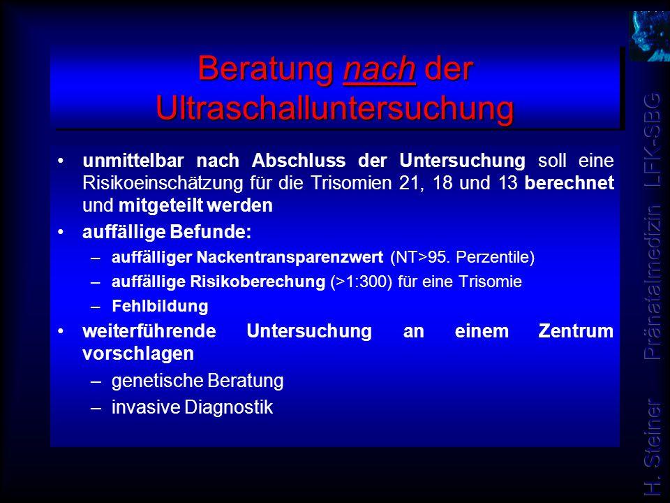 10-17 86 (72%) SSW N 18-24 21(18%) 25-34 12(10%) Pränatalambulanz Frauenklinik Salzburg