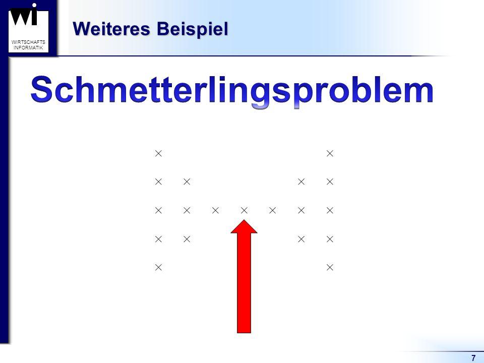 7 WIRTSCHAFTS INFORMATIK Weiteres Beispiel