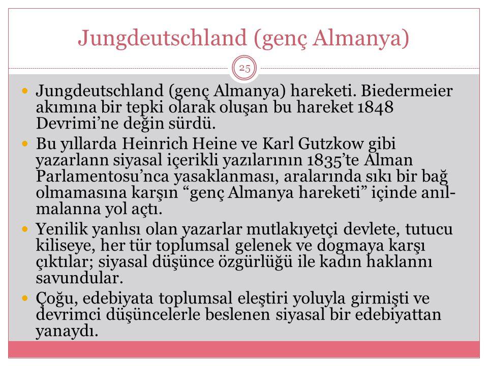 Jungdeutschland (genç Almanya) Jungdeutschland (genç Almanya) hareketi.