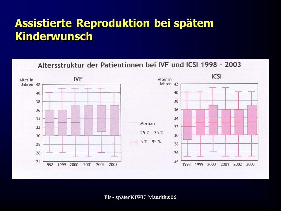 Fis - später KIWU Mauritius 06 Assistierte Reproduktion bei spätem Kinderwunsch