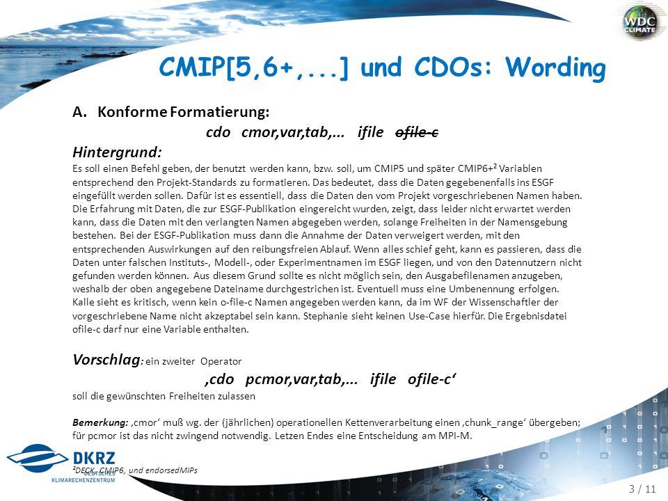 14 / 11 B.Konforme CDOs B.