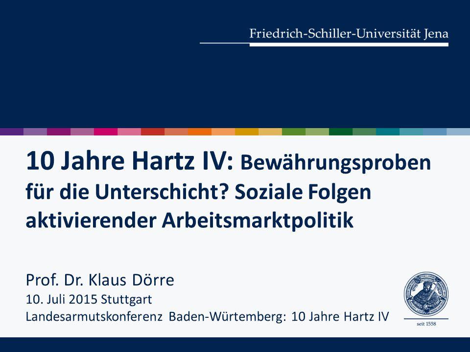 Dörre, Klaus/Scherschel, Karin/Booth, Melanie/Haubner, Tine/Marquardsen, Kai/Schierhorn, Karen (2013): Bewährungsproben für die Unterschicht.