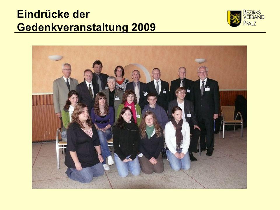 Eindrücke der Gedenkveranstaltung 2009