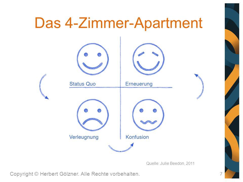 Das 4-Zimmer-Apartment Copyright © Herbert Gölzner. Alle Rechte vorbehalten. 7 Quelle: Julie Beedon, 2011