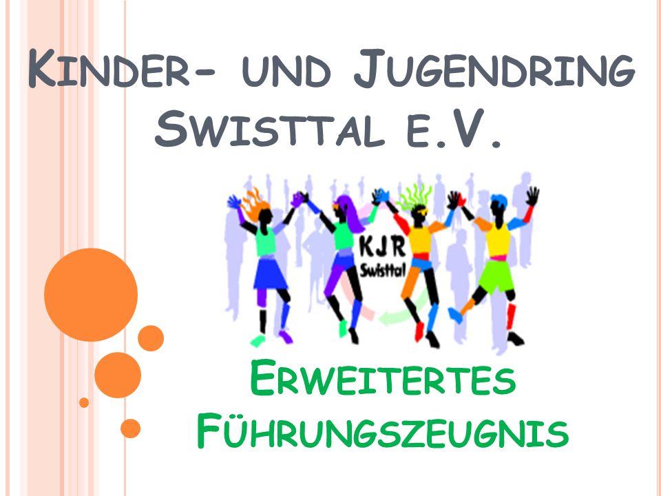 K INDER - UND J UGENDRING S WISTTAL E.V. E RWEITERTES F ÜHRUNGSZEUGNIS