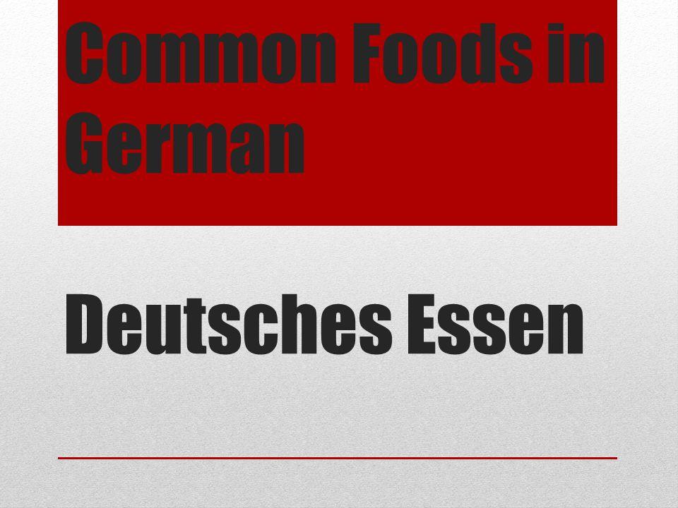 Essen: TO EAT ich esse - I eat du isst – you eat er isst – he eats sie isst – she eats wir essen – we eat ihr esst – you all eat sie essen- they eat